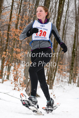 Hilltop Orchards 5K snowshoe race