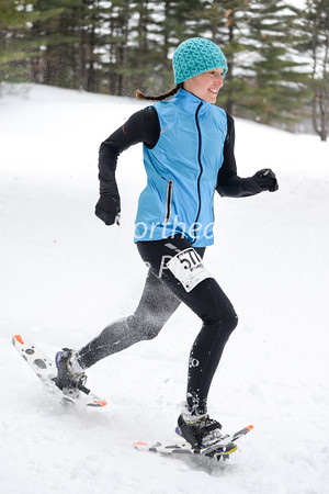 Northfield Mtn 4-mile snowshoe race